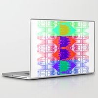 milan Laptop & iPad Skins featuring Milan Multi by Iconic Arts