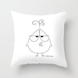 Frank Bird Throw Pillow