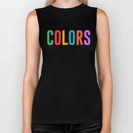 True Colors Unconditional Love Autistic Autism Biker Tank