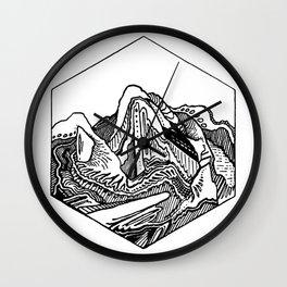Hexadoodle Wall Clock