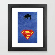 Supes Framed Art Print
