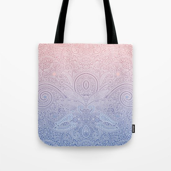 Delicate Pattern Tote Bag
