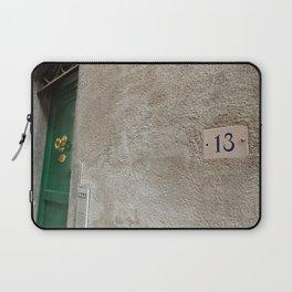 13 - Green Door Laptop Sleeve