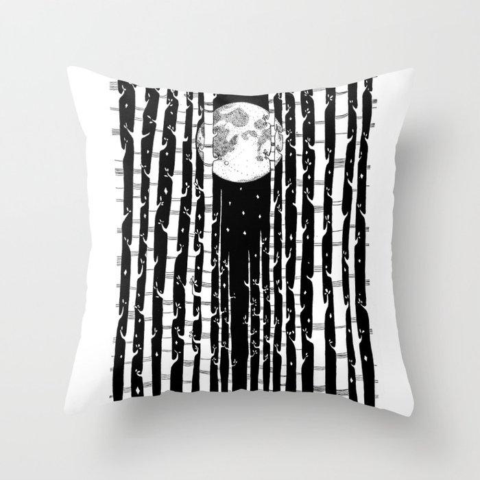 MoonLight Dream Throw Pillow