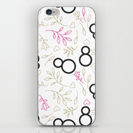 Womens day line style iPhone Skin