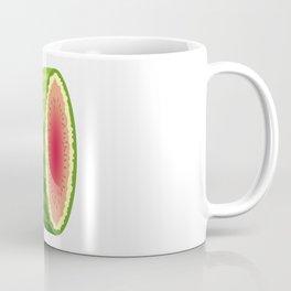 Water Melon Cut In Half Coffee Mug
