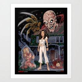 Nancy and Freddy Art Print