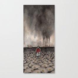Across The Sea Canvas Print