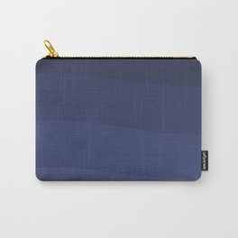 Six shades of blue. Carry-All Pouch