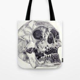 Skull pencil drawing Tote Bag