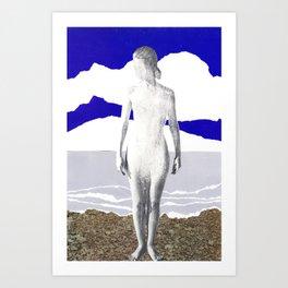 near brighton pier Art Print