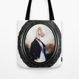 Framed Duke Diplodocus Tote Bag