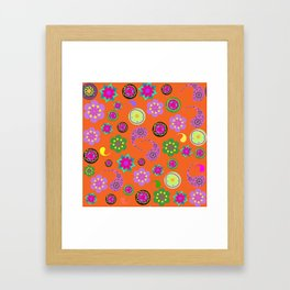 Paisley background Framed Art Print