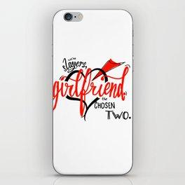 We're Slayers, Girlfriend iPhone Skin