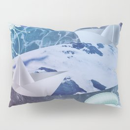 Stormy sea Pillow Sham