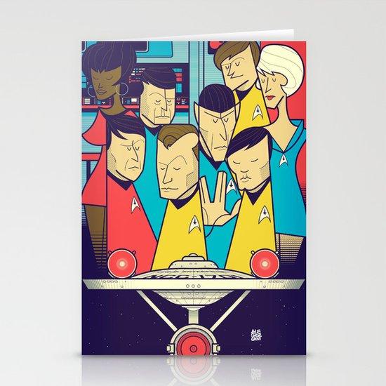 Star Trek Stationery Cards