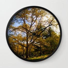 Fall.. Wall Clock