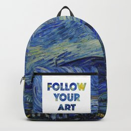 Follow Your Art Backpack