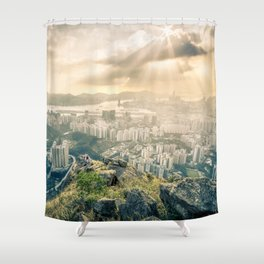 Hey look! It's our city! Shower Curtain