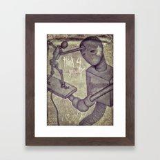 think4yourself Framed Art Print