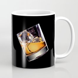 Whisky on the Rocks Coffee Mug