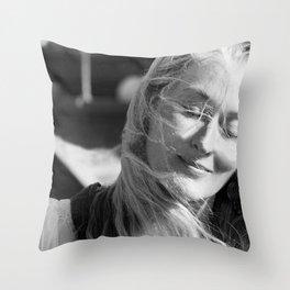 Meryl Streep Throw Pillow