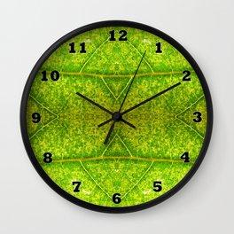 Macro Leaf No 4 Wall Clock
