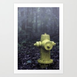 Hydrant 001 Art Print