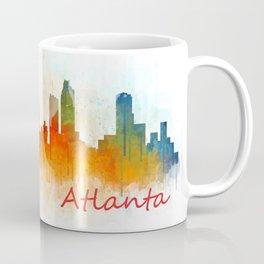 Atlanta City Skyline Hq v3 Coffee Mug