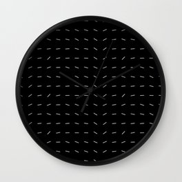 Large Dynamic Dashes Wall Clock