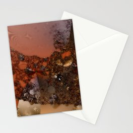 Study of textures and terra cotta Stationery Cards