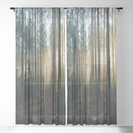 Landscape Photography Sheer Curtain