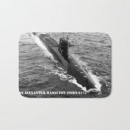 USS ALEXANDER HAMILTON (SSBN-617) Bath Mat