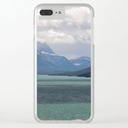 Waterton lake Clear iPhone Case
