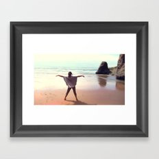 young.wild.&.free Framed Art Print
