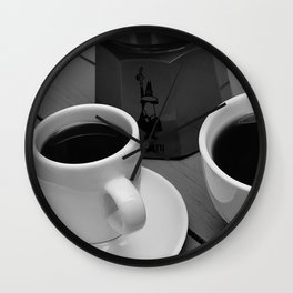 Coffe for two Wall Clock