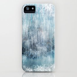 Winter Pattern - Light iPhone Case