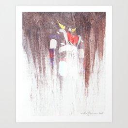 UFO 1 Art Print