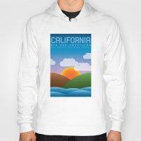 big sur Hoodies featuring Big Sur, California by dzynwrld