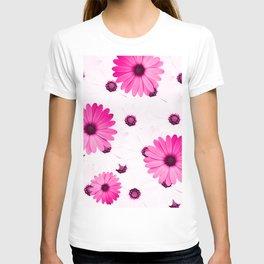 Pink  Gerbera T-shirt