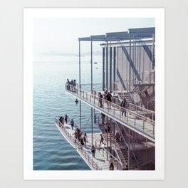 Centro Botin, Santander   Sea & Architecture   Film Photo Print Art Print