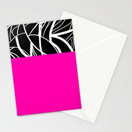 Pink Zebra Stationery Cards