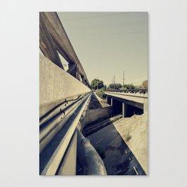 Summer Bridge Canvas Print