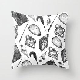 hp artifacts pattern Throw Pillow