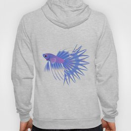 Two crowntail bettas Hoody