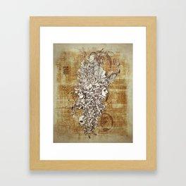 Human Rebirth Framed Art Print