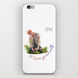 BTS Love Yourself Answer Design - RM iPhone Skin