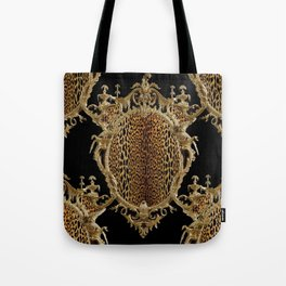 Leopard Chinoise Tote Bag