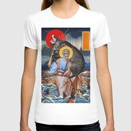 St Peter and the holy Boar of Clonrichert T-shirt