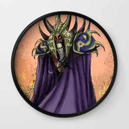 The Necromancer Wall Clock